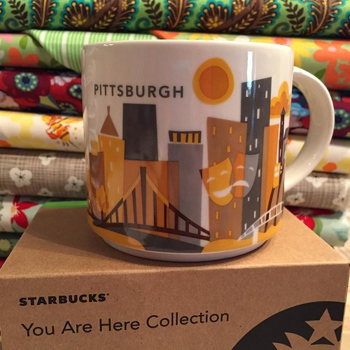 205:365 A new addition to my collection #yah #youarehere #youareherecollection #Starbucks #pittsburgh