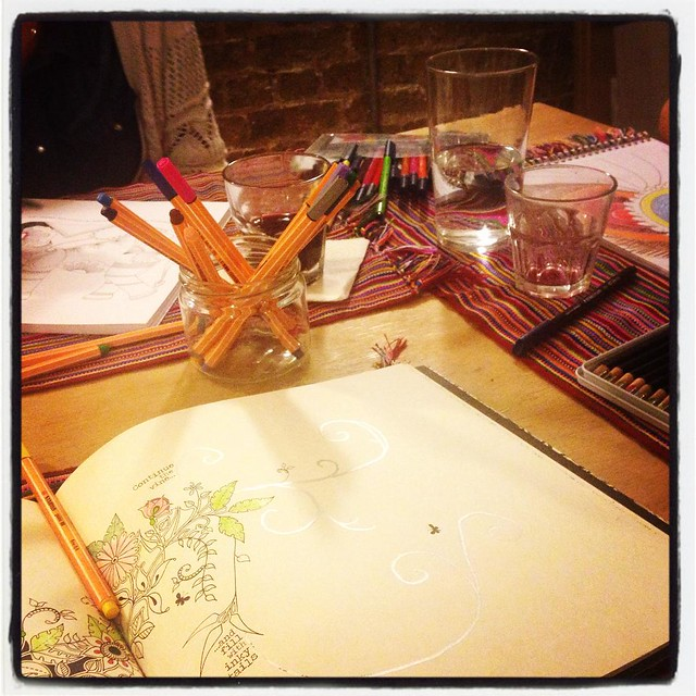Ain't no party like a colouring in party.... #colours #colouringin