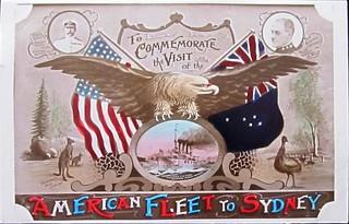 """The """"Great White Fleet"""" visits Australia - 1908"""