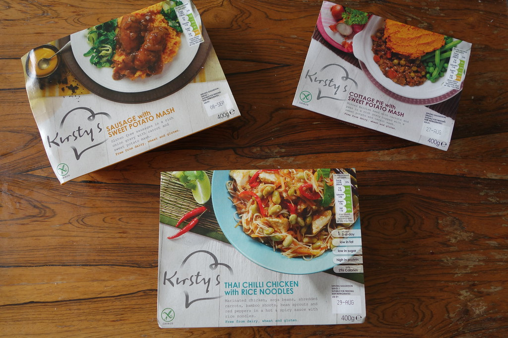 Kirsty's Gluten Free Ready Meals