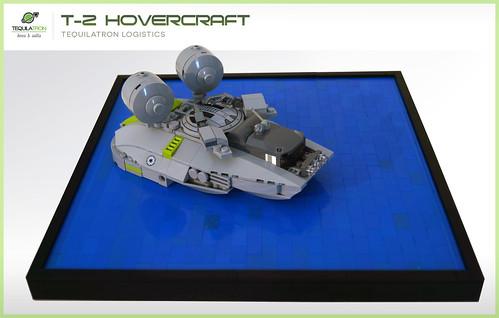 Tequilatron T-2 hovercraft - D.A.2 Logistics