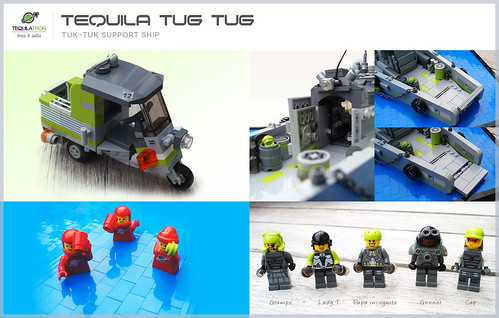 Tequila Tug Tug - Details - D.A.2 Support ship