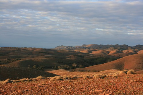 View from Stokes Hill Lookout Flinders Ranges