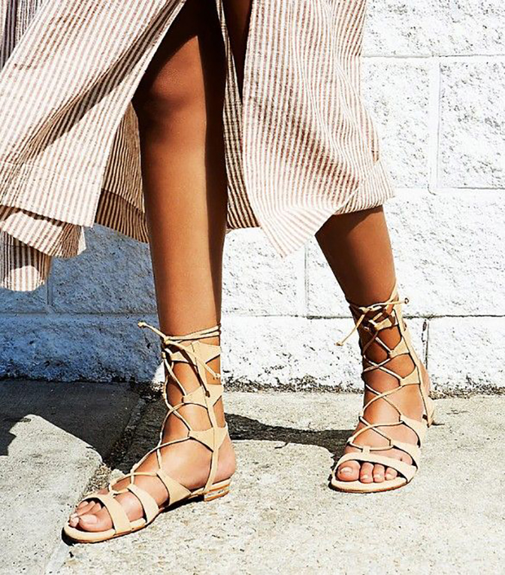 Gladiator Sandals Outfits Streetstyle Summer4