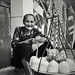 Fresh coconut juice seller by Peter YO