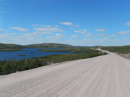 Labrador Highway voor Port Hope Simpson