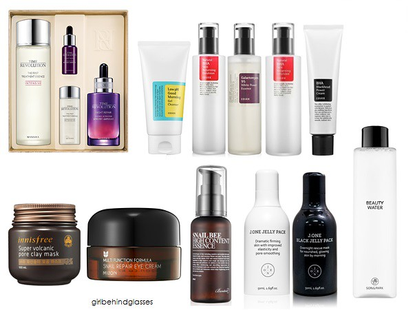 Korean Skincare Wishlist