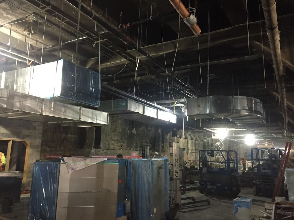 CM014B - Installation of Ductwork at Mechanical Room A3114 (12-28-2016)