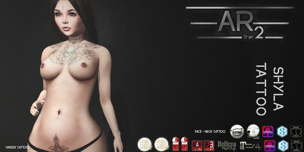 [AR2 Style] Shyla Tattoo - SecondLifeHub.com