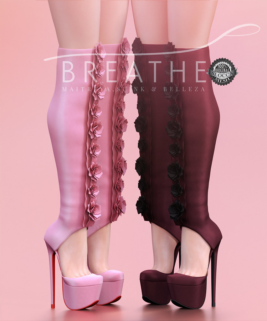 [BREATHE]-Rosie Boots - SecondLifeHub.com