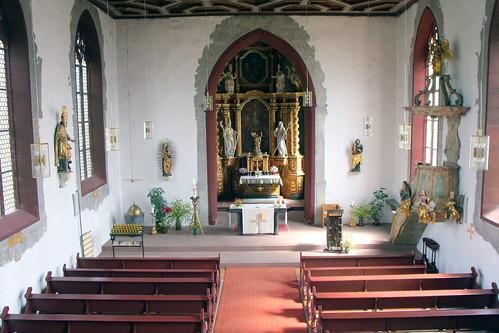 St. Ägidius, Wolfmannshausen, Innen