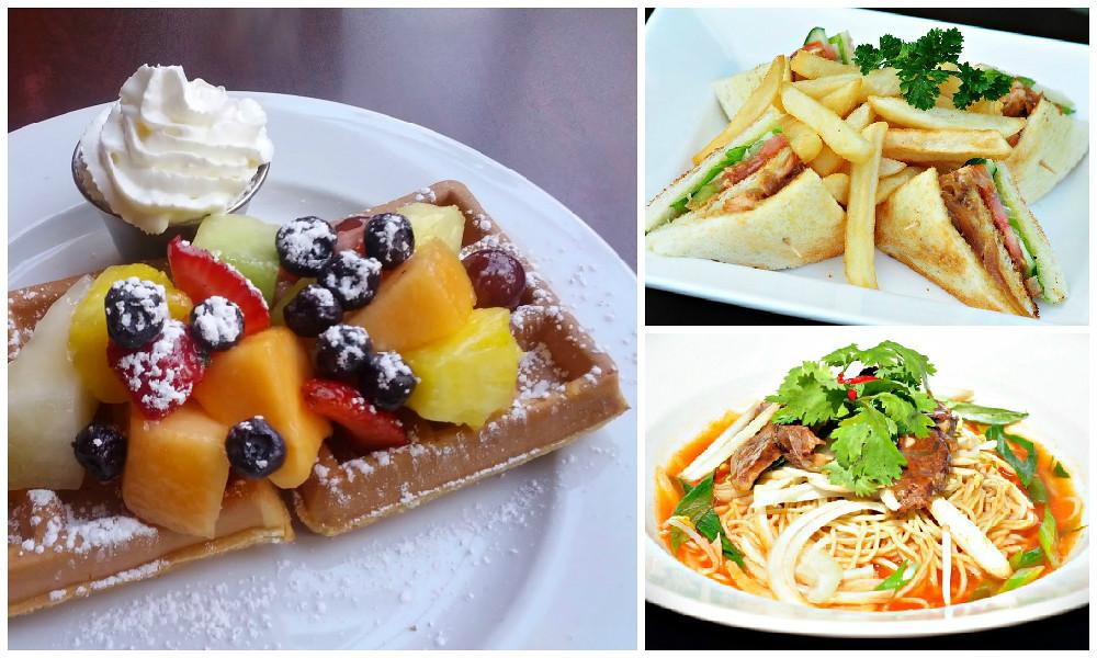 cocorico cafe food collage via vanbrosia
