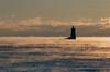 Portsmouth Harbor Whaleback Light seasmoke shot on film
