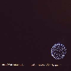 Perfect ending to a happy 4th. #fromwhereIstand #dslooking #4thofjuly #independenceday #firework #myib
