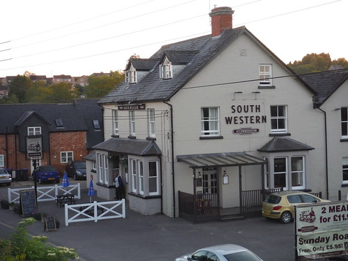 The South Western by Tisbury Station