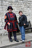 Mrs Dragonspeed and a Beefeater