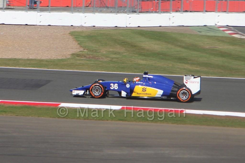 Raffaele Marciello in Free Practice 1 at the 2015 British Grand Prix