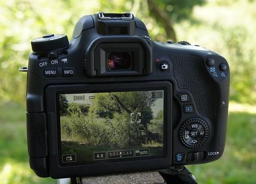 Canon 760D   paprastas prisilietimas prie fotografijos