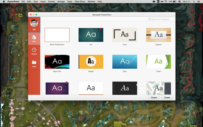 office2016 for mac - powerpoint