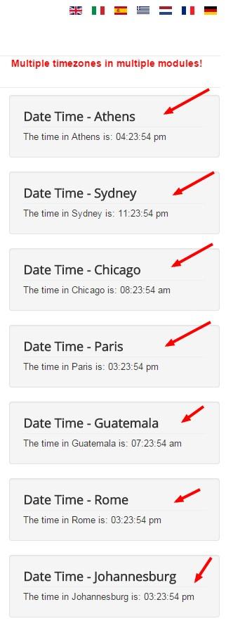 Display Date + Time