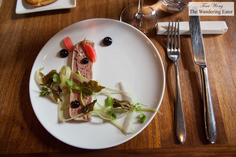 Exquisite lunch at restaurant les 400 coups montreal canada the wandering eater - Les 400 coups restaurant ...