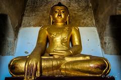 Buddha Statue in Gawdawpalin Temple (Bagan, Myanmar)