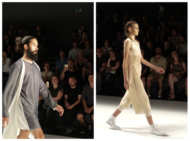 Mercedes Benz Fashion Week 2015: Vektor / Bianca Fleisch / One Wolf
