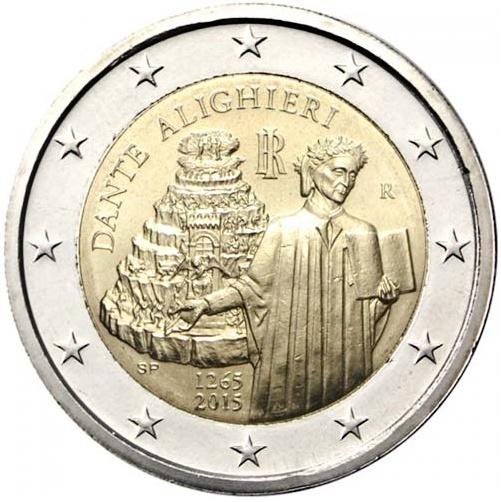2 Euro Taliansko 2015, Dante Alighieri
