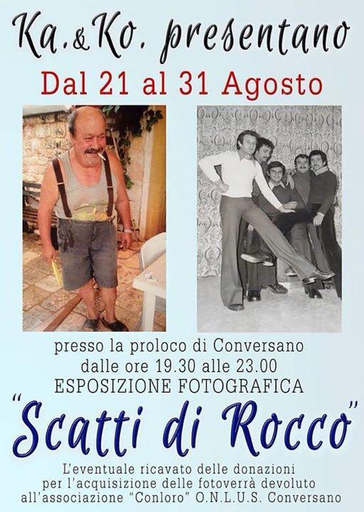 Conversano- Scatti di Rocco- Mostra fotgrafica