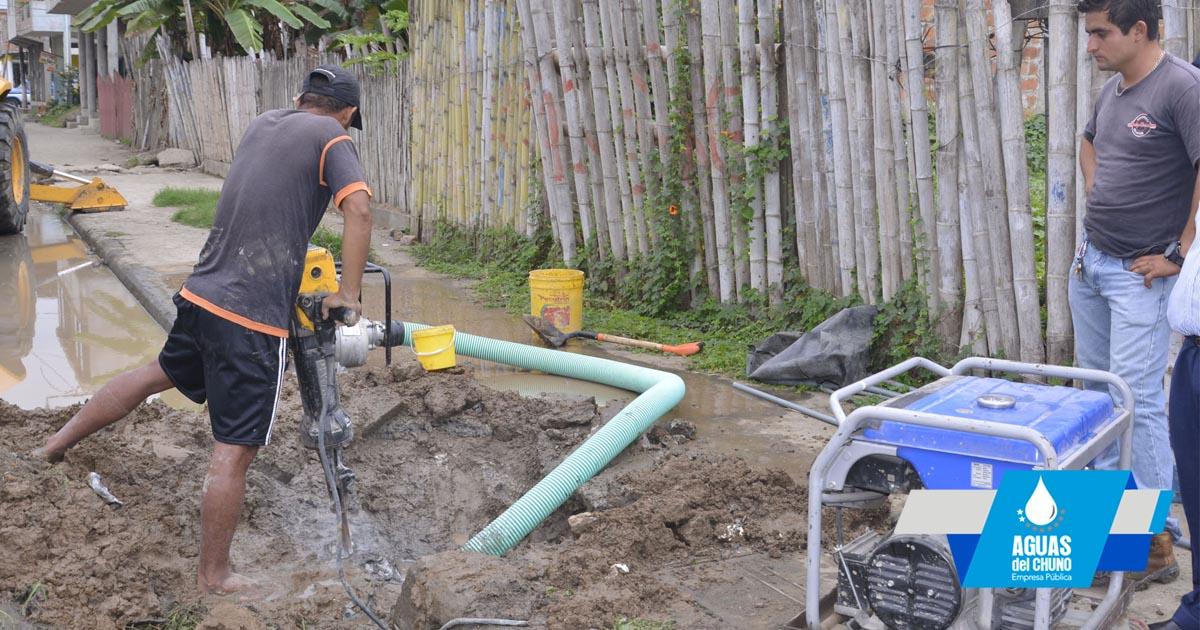 Trabajos para Identificar fuga de agua en San Felipe