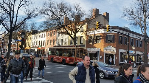 King Street Trolley bus, Alexandria Virginia