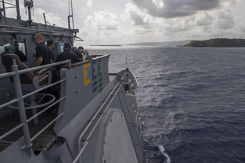 USS Shiloh Sailors Explore Guam