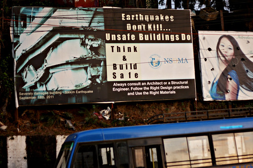 Earthquakes don't kill...