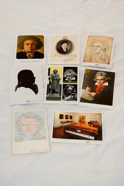 貝多芬名信片
