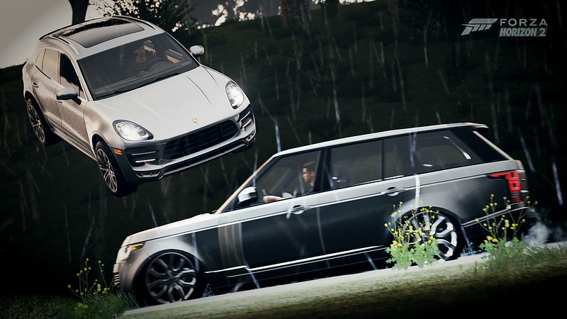 2015 Porsche Macan Turbo   2014 Land-Rover Range Rover Supercharged