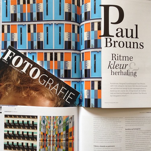 Article on my work in FotoGrafie (july/August 2015)