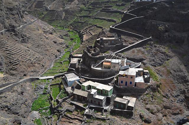 Hamlet, Cruzinha to Ponta do Sol route, Santo Antao, Cape Verde