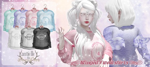 antielle. & ~Dear Deer~ Winged Sweatshirts @Manga Fair!