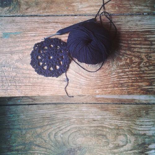 Virkkaushommia // Crochet project