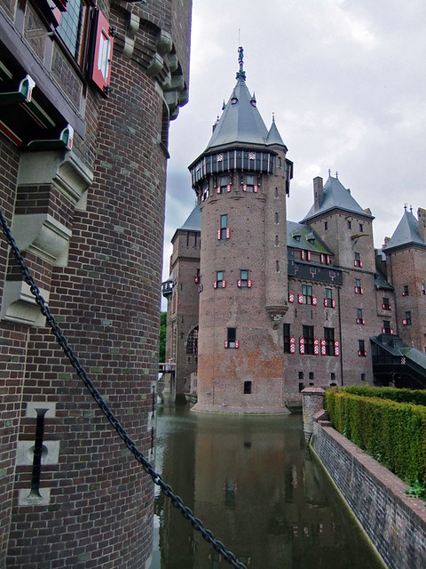 Kasteel de Haar Reflected in its Moat
