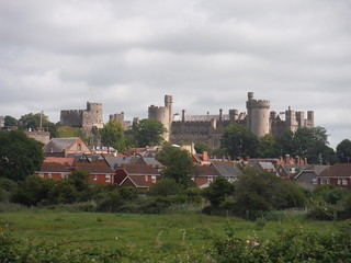 Arundel from the A-Road