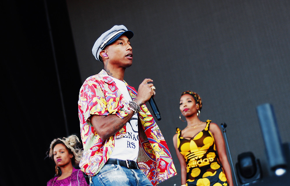 Pharrell Williams @ Ruisrock 2015