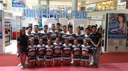 Davao Photos: National University (NU) Pep Squad at SM Davao's University Fair 2015 - DavaoLife.com 20150709_114838
