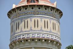 """Barcelona (La Barceloneta). Water tower for """"La Catalana de Gas"""" company. 1905. Josep Domènech i Estapà, architect."""