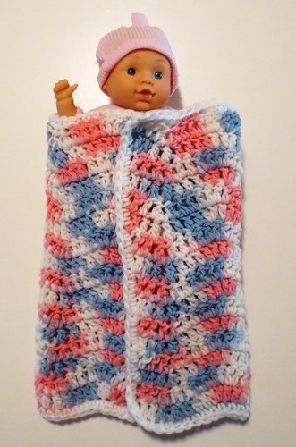 Doll Wavy Ripple Blanket