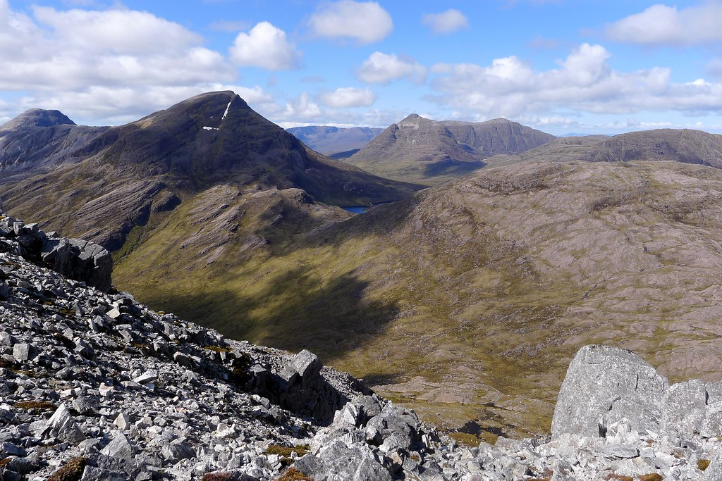 Loch an Eion from the slopes of Stuc a'Choire Ghrannda