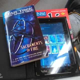 Treklit #startrek #books #ebooks #kobo #koboarc7 #davidegeorge