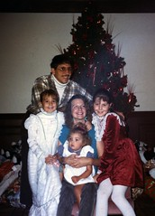 1989-Tony-Barbara-Vic-Alex-Angie - At Navy Christmas Party