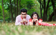 Look on the lens - Couple Portrait Photography