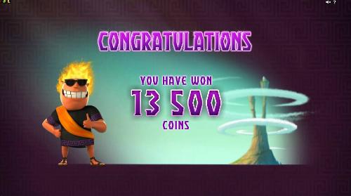Hot as Hades Bonus Game Prize